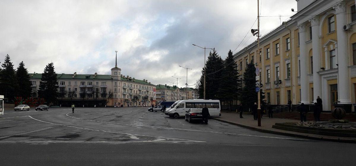 Что происходит в Барановичах в день визита президента. Обновляется