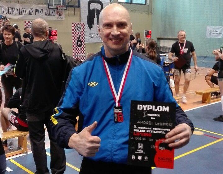 Барановичский гиревик выиграл открытый чемпионат Польши
