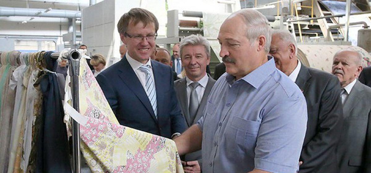 2015 год. Александр Лукашенко во время визита на БПХО. Фото: сайт belta.by