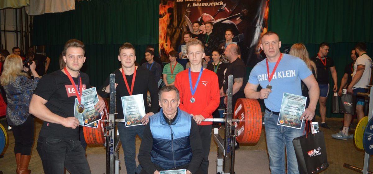 Барановичские силачи отличились на чемпионате области в Белоозерске