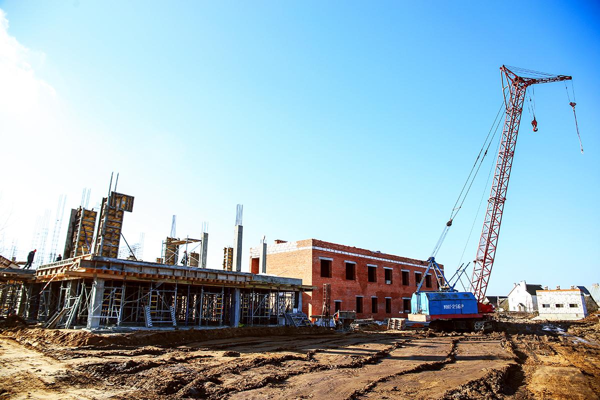 Общий вид будущей станции скорой помощи. Фото: Евгений ТИХАНОВИЧ