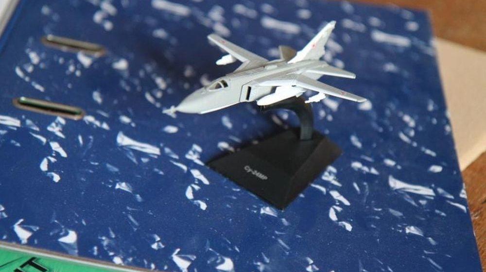 В Гомеле установят бомбардировщик Су-24, который привезли из Барановичей