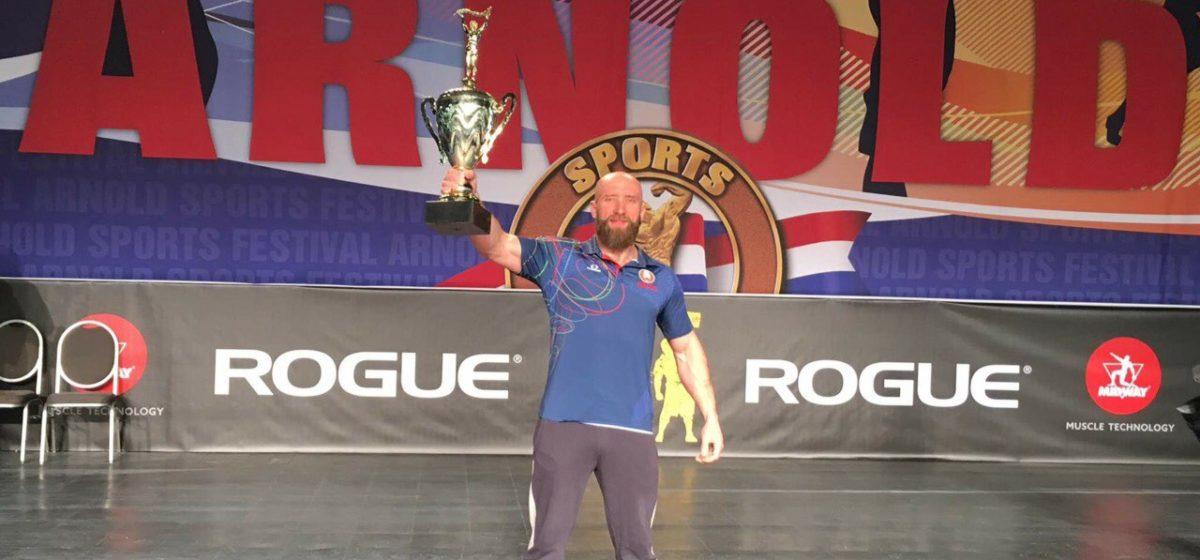 Спортсмен-гиревик из Барановичей стал лучшим на чемпионате Беларуси по гиревому марафону