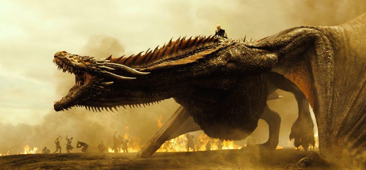 На видео показали, как создавался дракон для «Игры престолов»