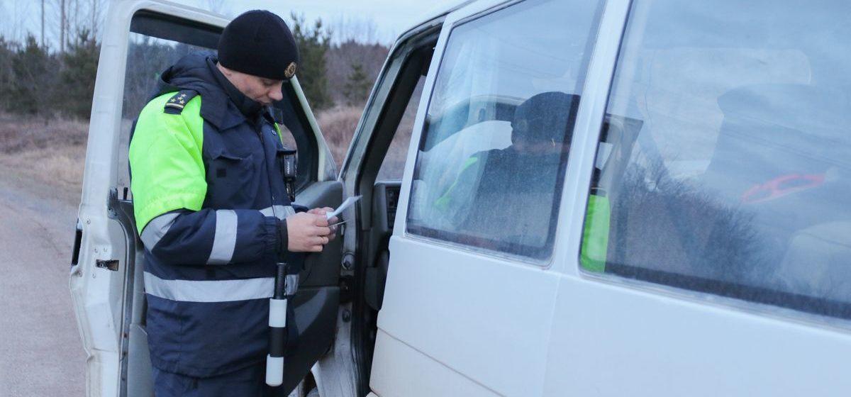 ГАИ Беларуси усилит контроль за состоянием водителей