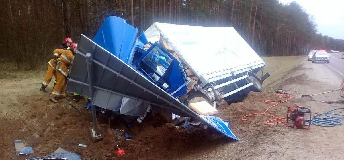 36-летний дальнобойщик из Лиды погиб в ДТП в Ивьевском районе