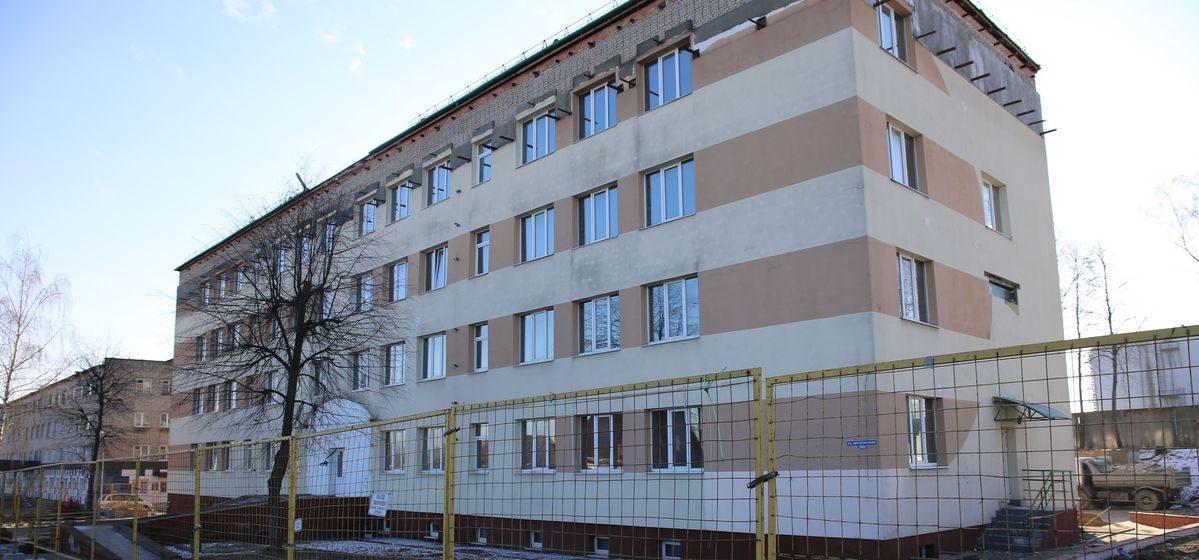 В Барановичах началась реконструкция здания, в которое переедет суд