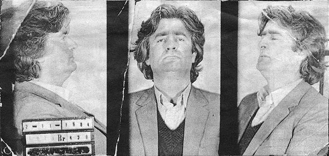 Арестованный по обвинению в экономических преступлениях Радован Караджич; ноябрь 1984 года. Фото: ru.wikipedia.org