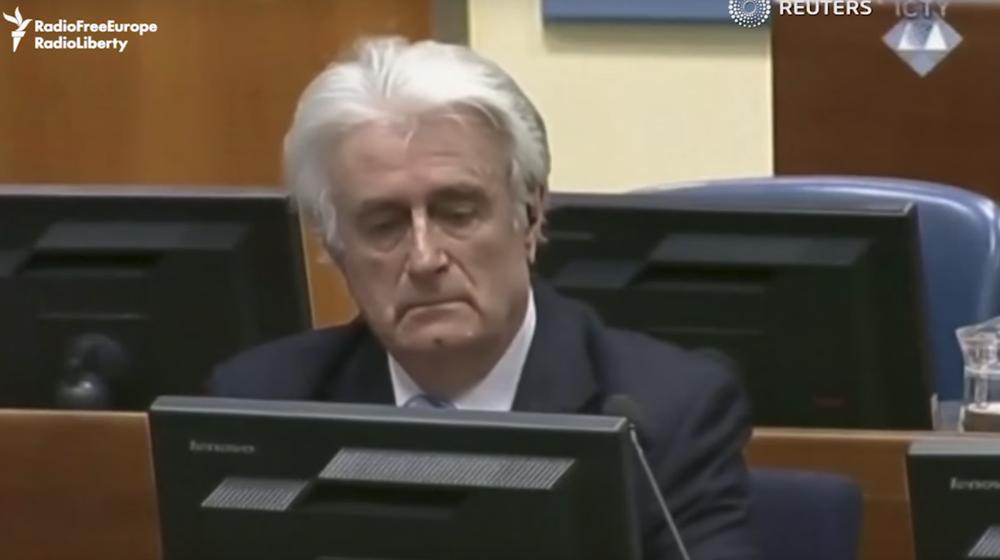 В Гааге суд приговорил первого президента Республики Сербской Радована Караджича к пожизненному заключению