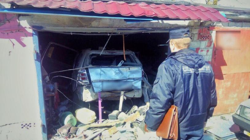 В Бобруйске в гараже произошел взрыв — один человек погиб