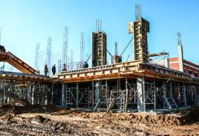 Как идет строительство нового здания станции скорой помощи в Барановичах (фото)