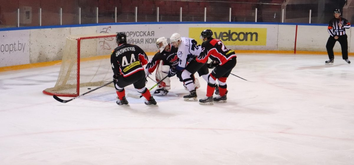 ХК «Барановичи» проиграл в овертайме домашнего матча чемпионата страны