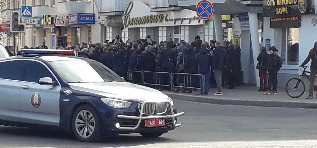 Президент пообщался с жителями Барановичей
