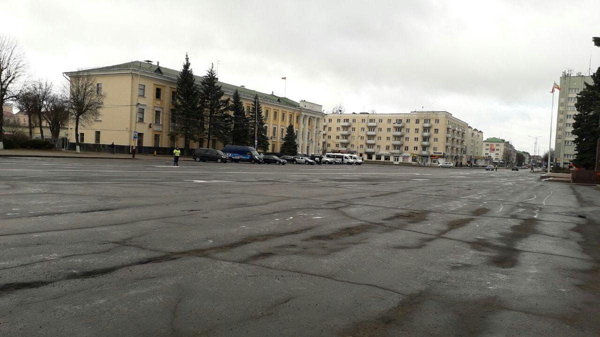 Площадь Ленина. Фото: Татьяна МАЛЕЖ