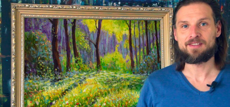 В Барановичах откроется выставка местного художника Валерия Рыбакова