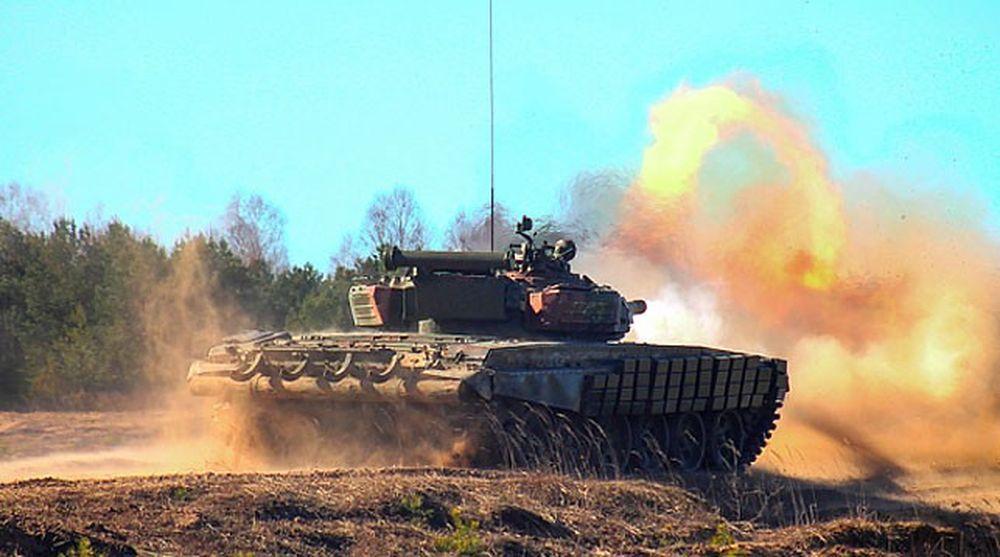 На полигоне под Барановичами проходит батальонное тактическое учение механизированной бригады с боевой стрельбой