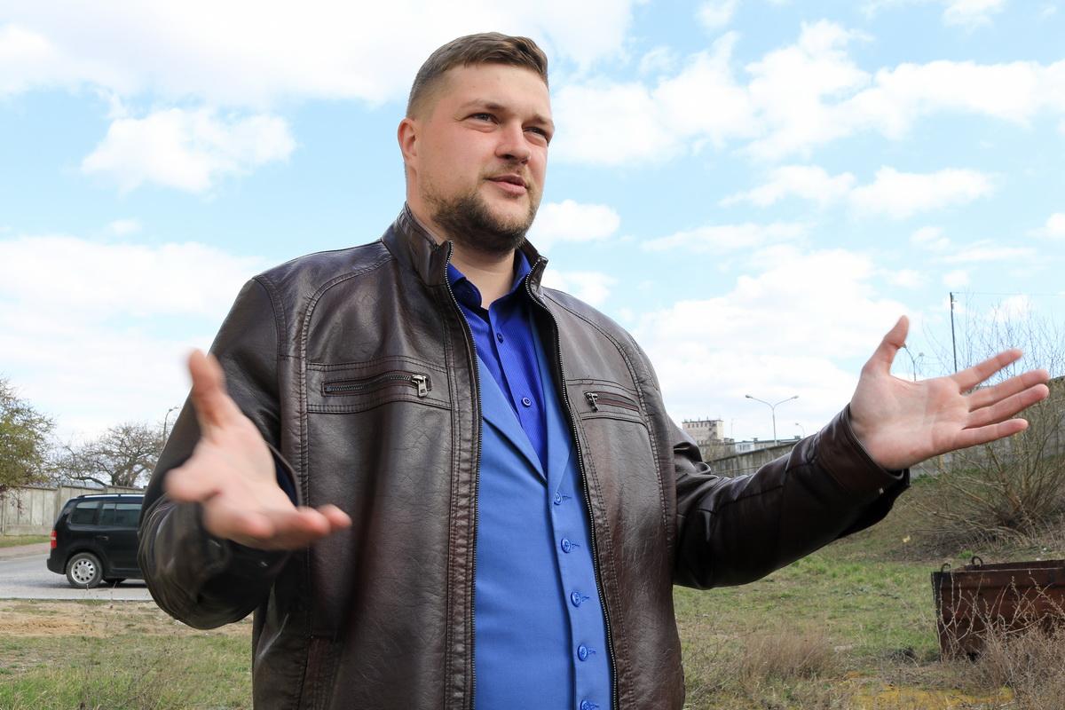 Александр Зотов, заместитель директора ФК «Барановичи». Фото: Александр ЧЕРНЫЙ