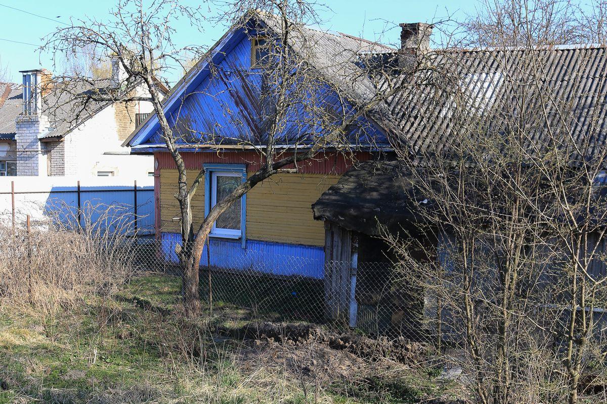 Дом, около которого нашли останки ребенка. Фото: Александр ЧЕРНЫЙ