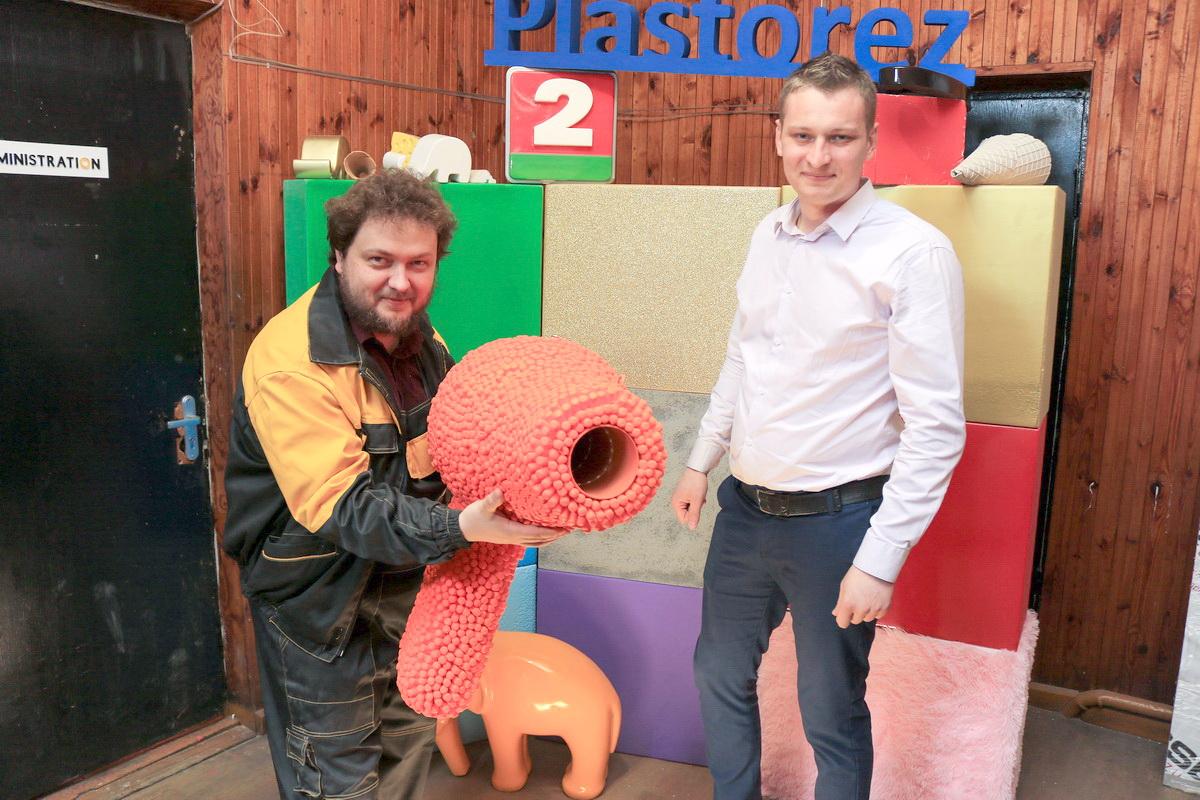 Сергей Мартинкевич (слева) и Владимир Авхимович. Фото: Александр ЧЕРНЫЙ