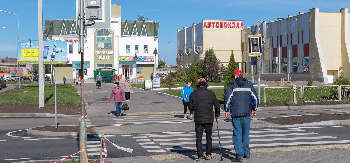 На центральных улицах Барановичей появятся островки безопасности