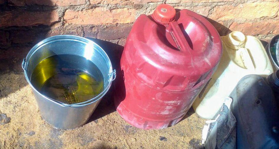 У жителя Ляховичей изъяли больше 700 литров крашеного топлива