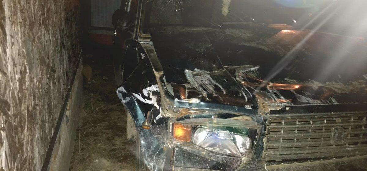 Пьяный водитель «Жигулей» в Толочине протаранил телегу и скрылся