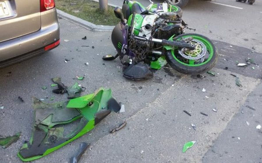 В Ляховичах в ДТП пострадал мотоциклист