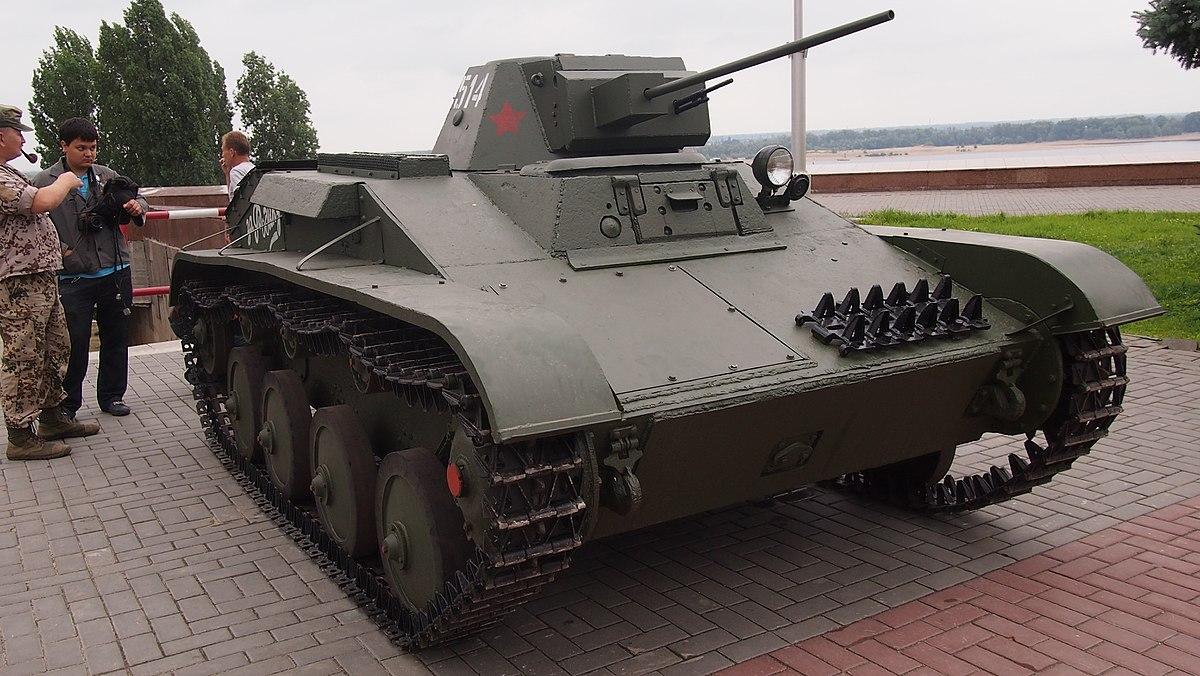 Легкий танк Т-60. Фото: ru.wikipedia.org