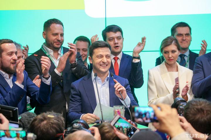 ЦИК Украины обработал более 80% протоколов, Владимир Зеленский получил 73,6% голосов, Петр Порошенко — 24,6%