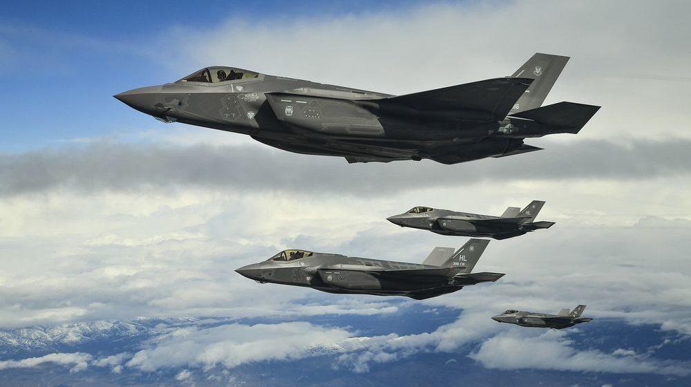 Новейший истребитель-бомбардировщик F-35A разбился в Японии