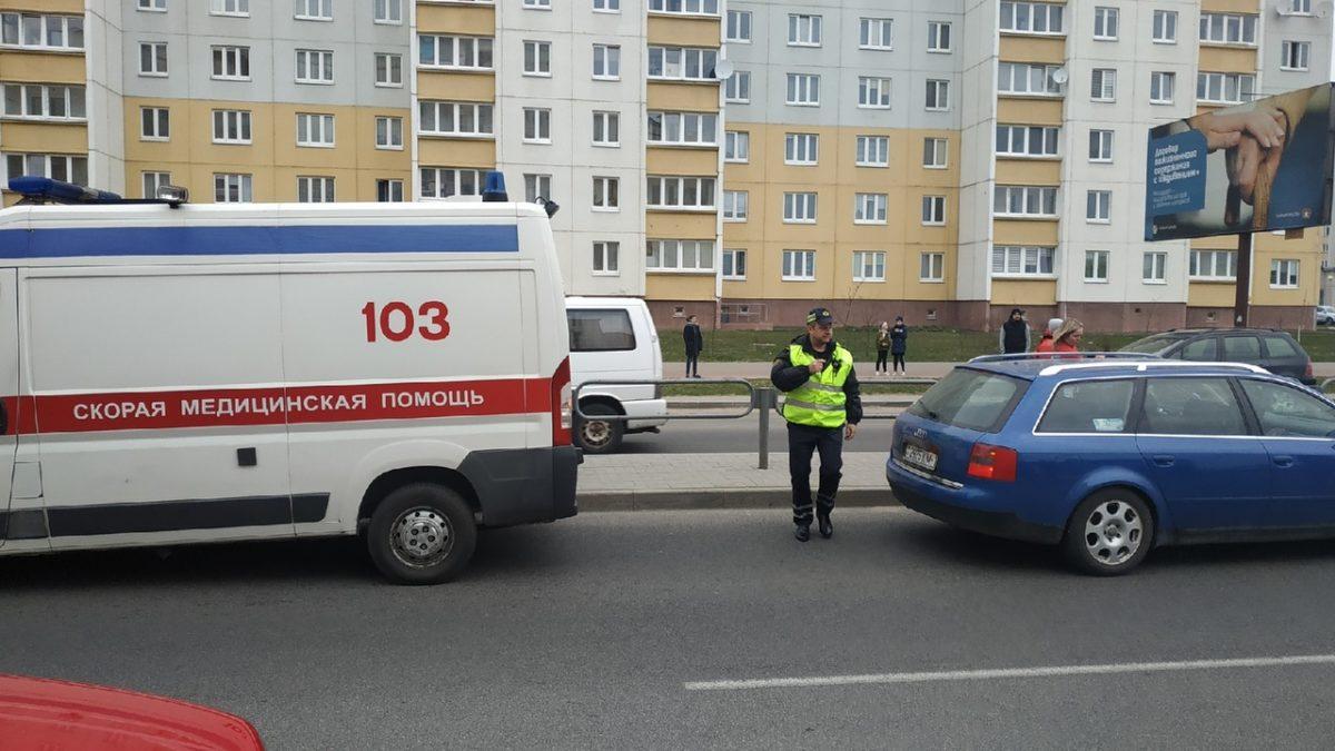 Место ДТП. Фото: Руслан РАВЯКА, Intex-press
