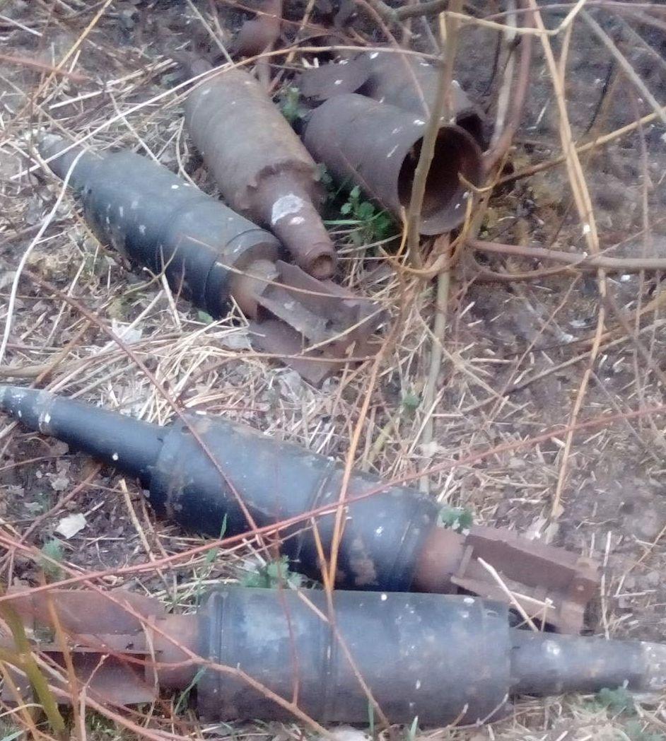 Барановичи снаряды
