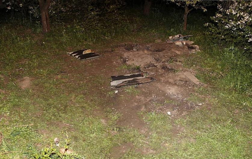 В Гродно во дворе частного дома обнаружили человеческие останки