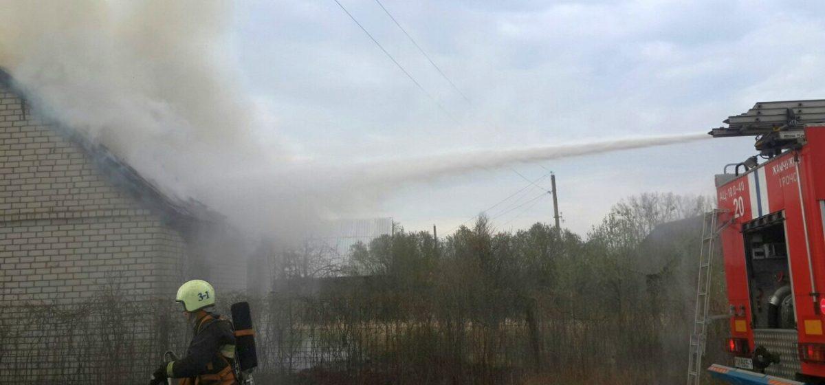 Мужчина сгорел в собственном доме в деревне под Барановичами