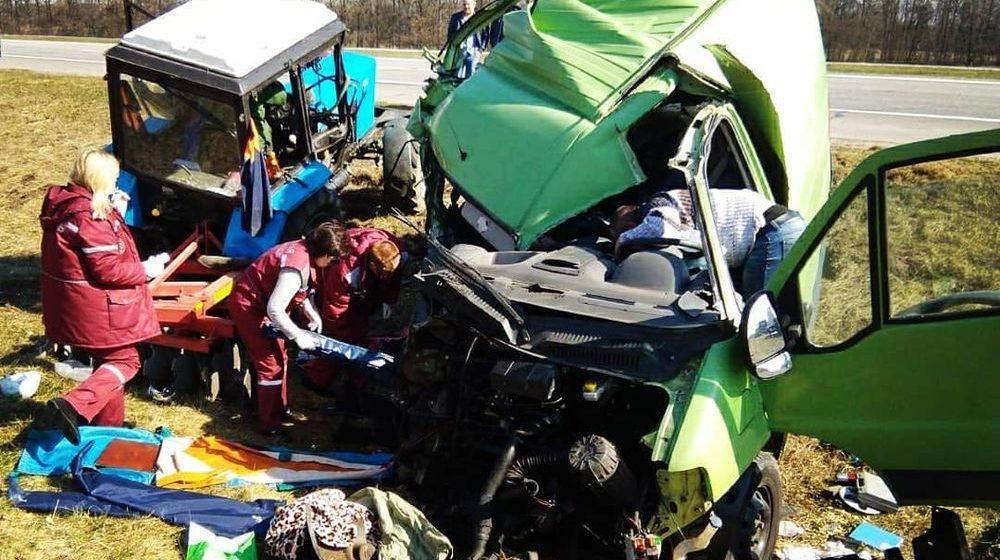 Умерла пассажирка Peugeot, попавшего в ДТП под Барановичами