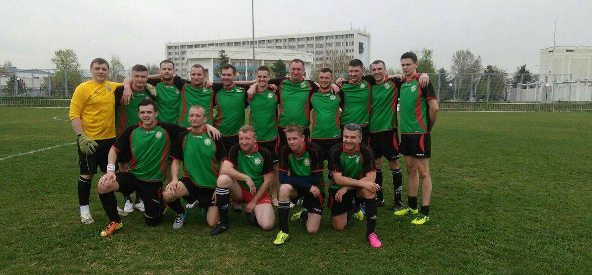 Барановичские медики играли за белорусскую сборную на Международном турнире по футболу среди врачей