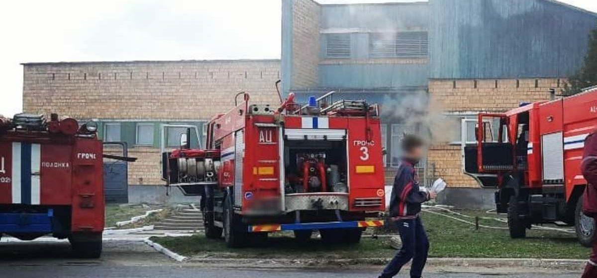 В Барановичском районе горела баня