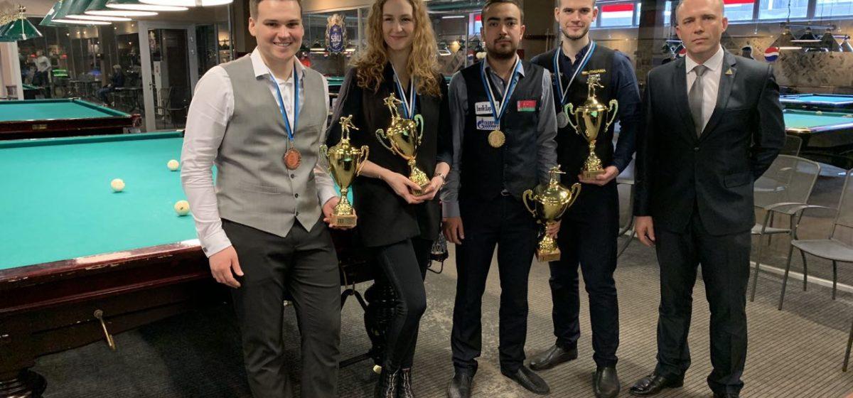Барановичский мастер бильярда выиграл этап Балтийской Лиги в Эстонии