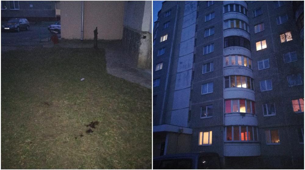 В Барановичах мужчина выпал из окна и разбился