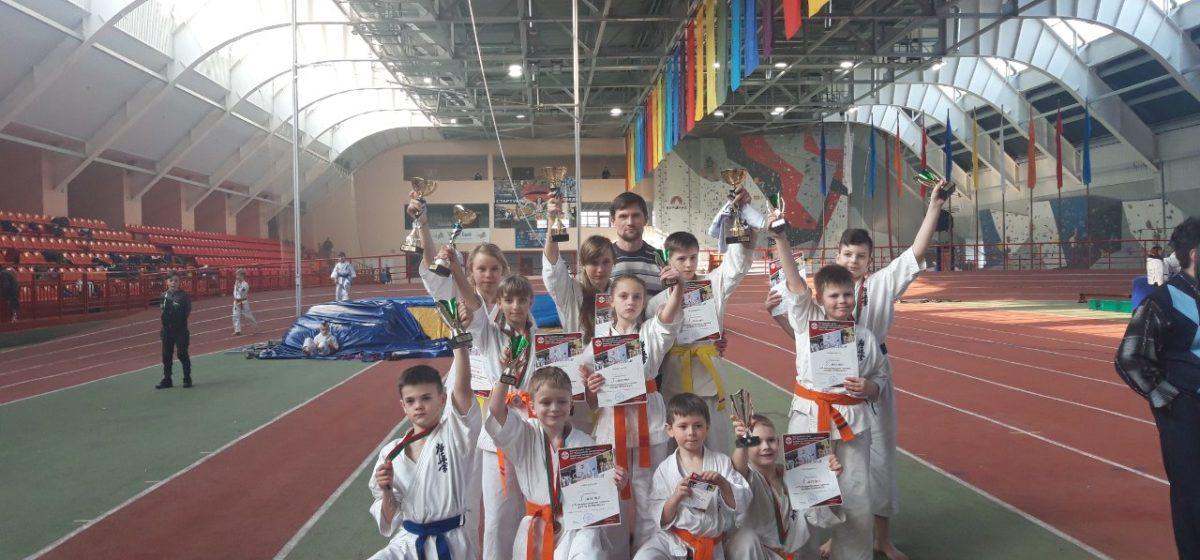 Барановичские каратисты успешно выступили на «Кубке «Прибужье» в Бресте