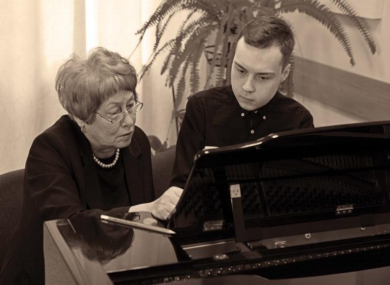 Галина Горелова и Игорь Комар. Фото: личный архив