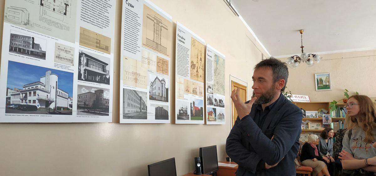 Выстава даваеннай польскай архітэктуры адкрылася ў Баранавічах