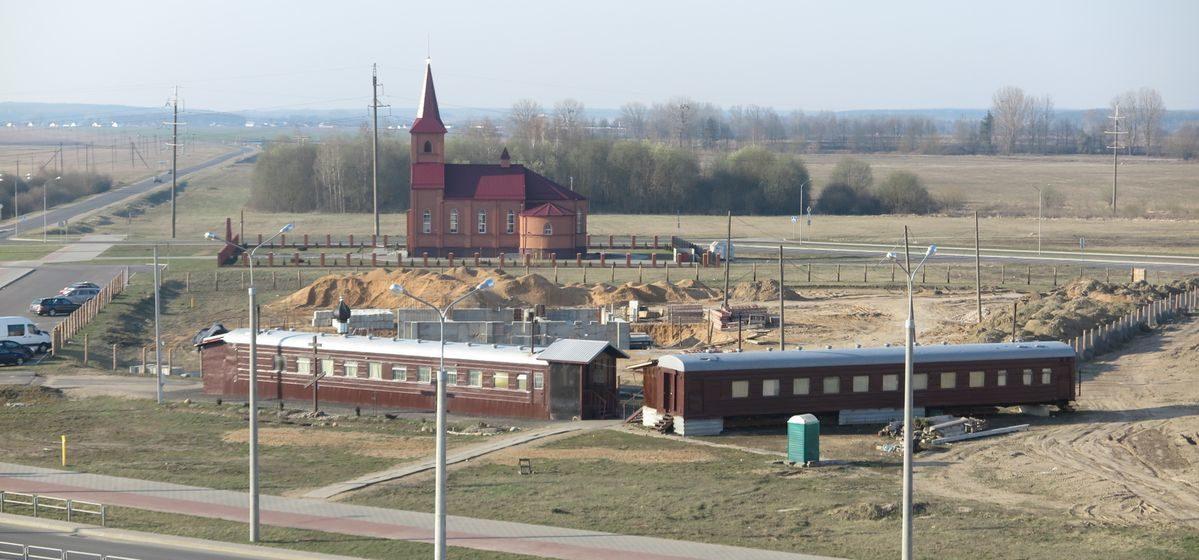 Как идет строительство нового православного храма в Барановичах (фото)