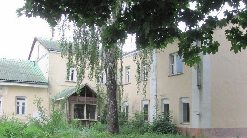 Внутренний двор бывшего наркодиспансера. Фото: brest-region.gov.by