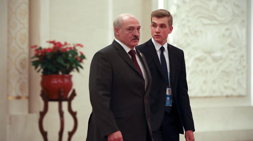 Коля Лукашенко удивил всех новой прической (фотофакт)