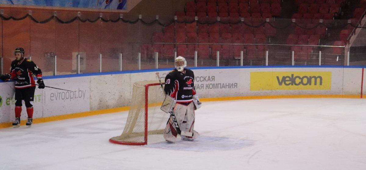 ХК «Барановичи» половиной состава минимально уступил в Пинске