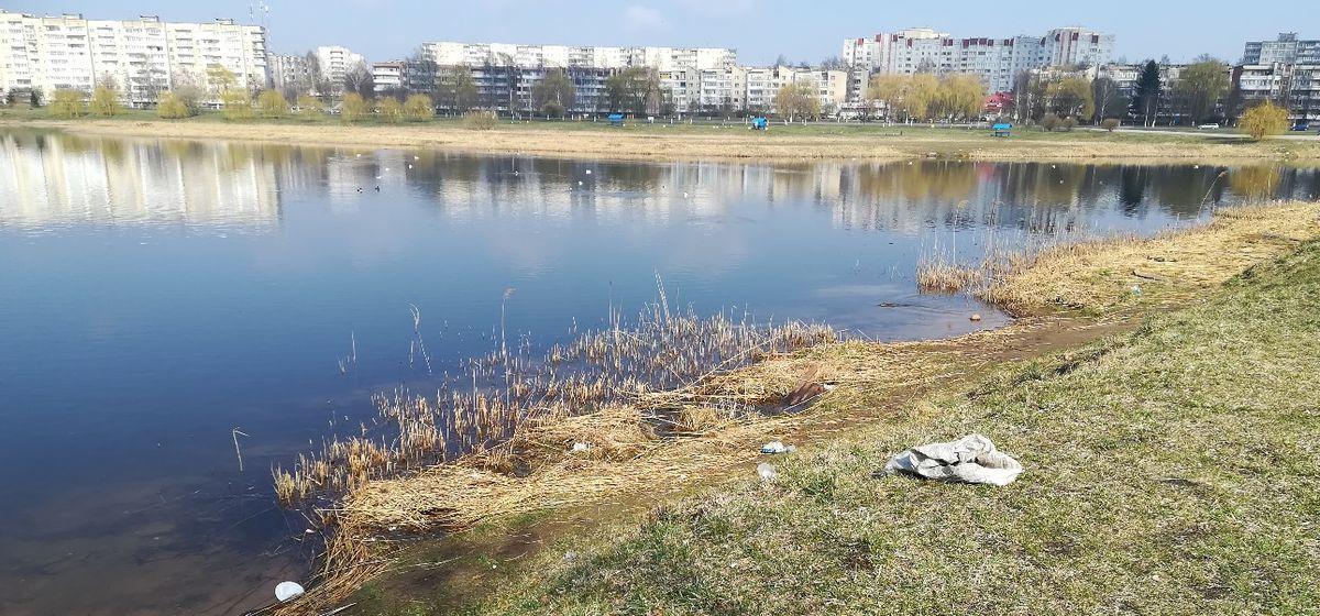 В Барановичах пройдет акция по сбору мусора с берегов Светиловского озера. Приглашаются все желающие