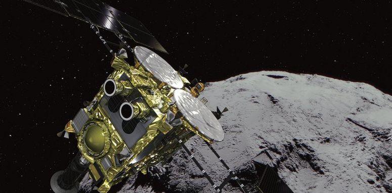 Японский зонд «Хаябуса-2» сбросил на астероид бомбу
