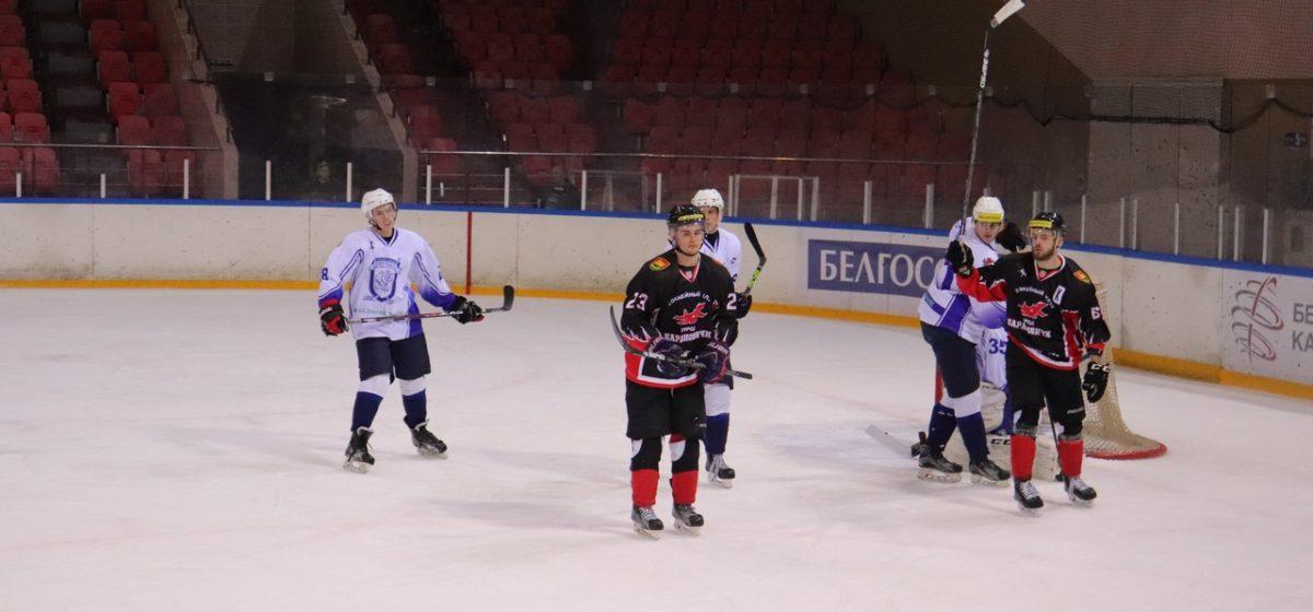 ХК «Барановичи»: победа и поражение в двух домашних играх подряд