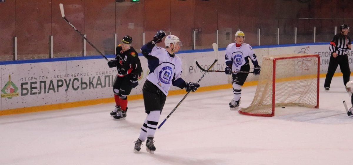 ХК «Барановичи» минимумом хоккеистов не удержал ничью в гостях